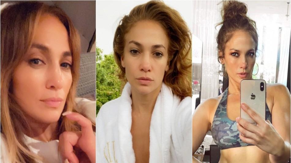 La transformación de Jennifer Lopez para celebrar un viernes
