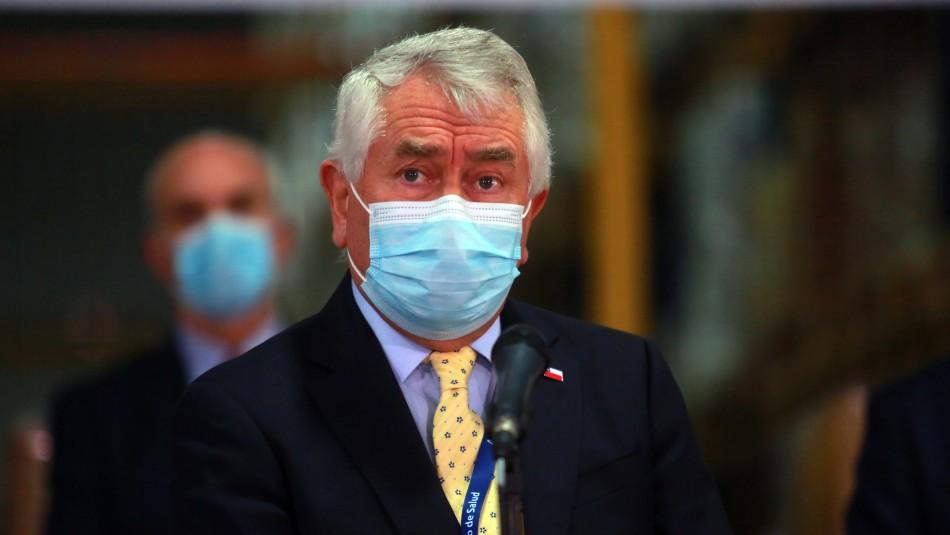 Minsal reporta 1.860 nuevos contagios y confirma aumento en ocupación de camas UCI no covid
