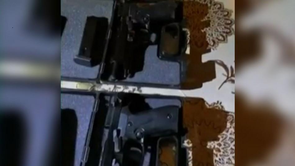 PDI decomisa 50 armas de fuego en una de las incautaciones más grandes del año