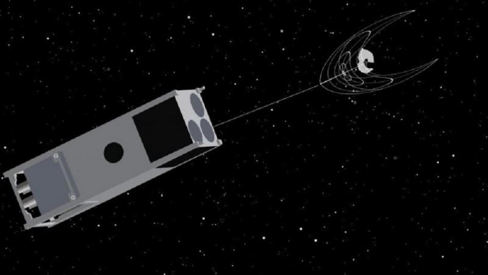 Así será el dispositivo desarrollado para limpiar los desechos espaciales
