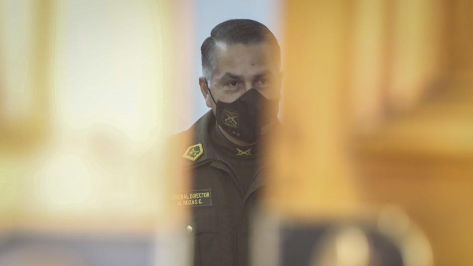 Carabineros por cargos contra 7 altos mandos: