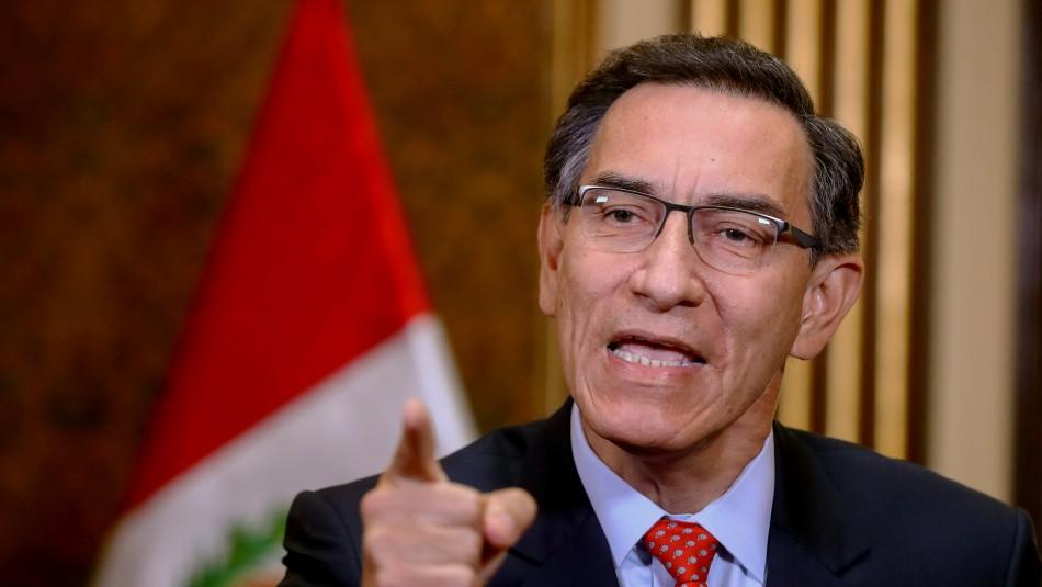 Primer ministro de Perú: Congreso prepara