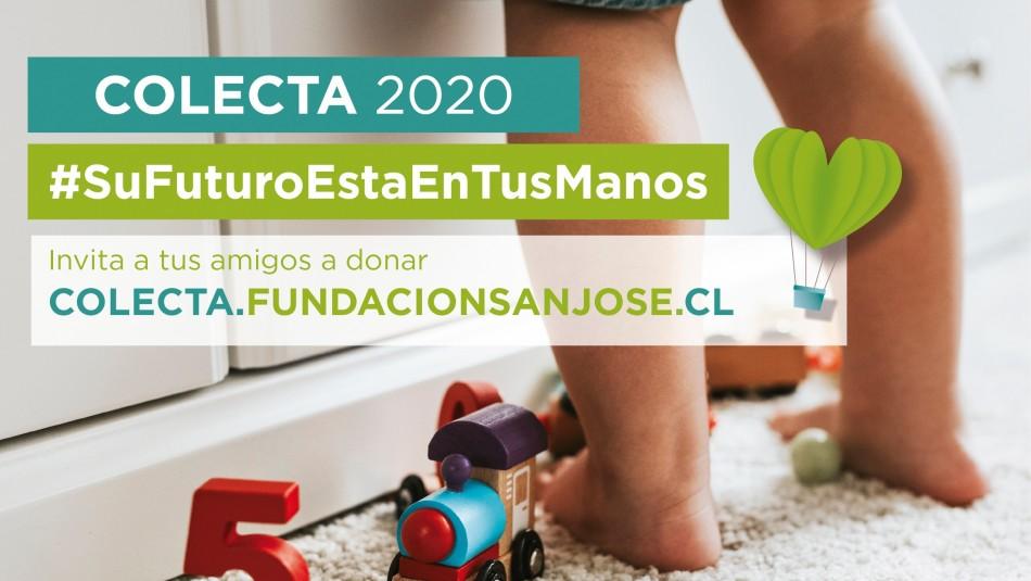 Fundación San José para la Adopción está realizando hasta mañana domingo su colecta anual 2020