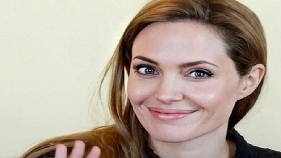 Angelina Jolie sorprende a dos niños de seis años que recaudan fondos vendiendo limonada