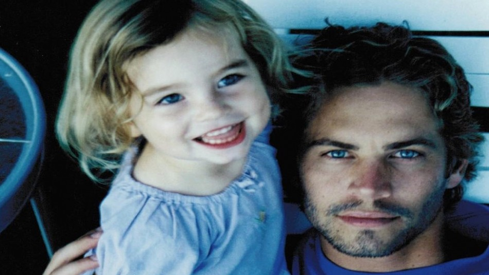 Paul Walker estaría cumpliendo 47 años y su hija lo recuerda con esta inédita foto