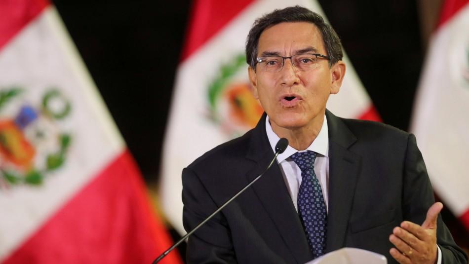 Fiscalía peruana allana viviendas en caso de juicio de destitución de Martín Vizcarra