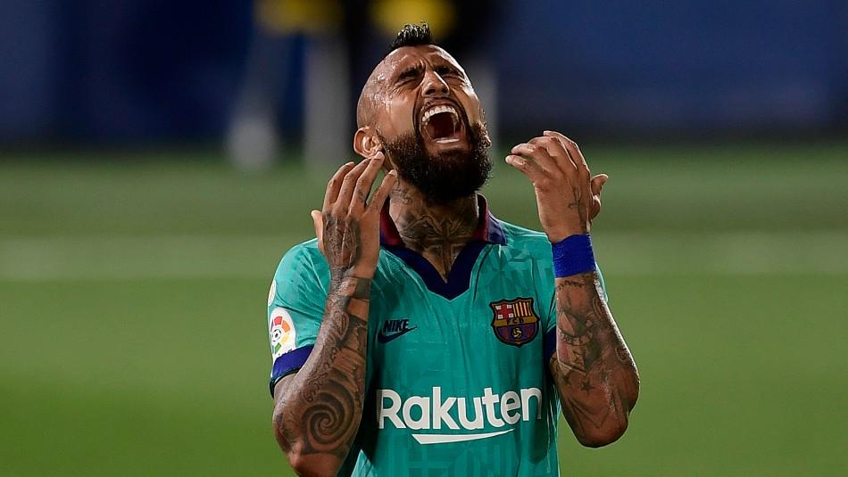¿Se acerca al Inter?: Arturo Vidal no fue convocado en partido amistoso del Barcelona