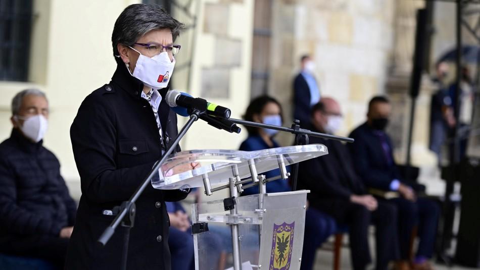 Alcaldesa de Bogotá pide perdón tras brutalidad policial que desató protestas en ese país
