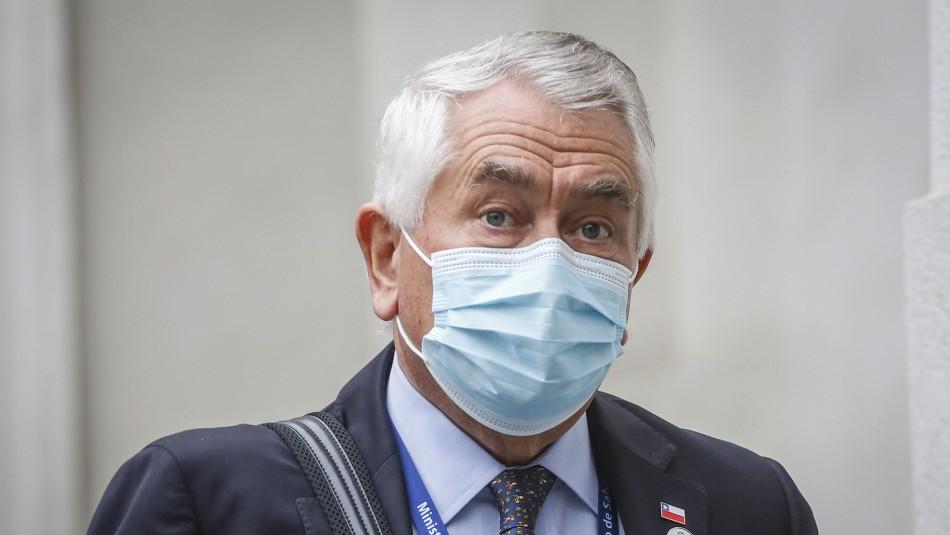 Ministro Paris y acusación constitucional contra Jaime Mañalich: