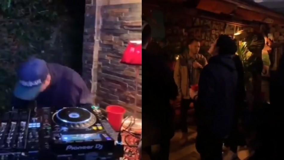Red de Salud UC Christus separa a trabajadora que viralizó fiesta con DJ incluido