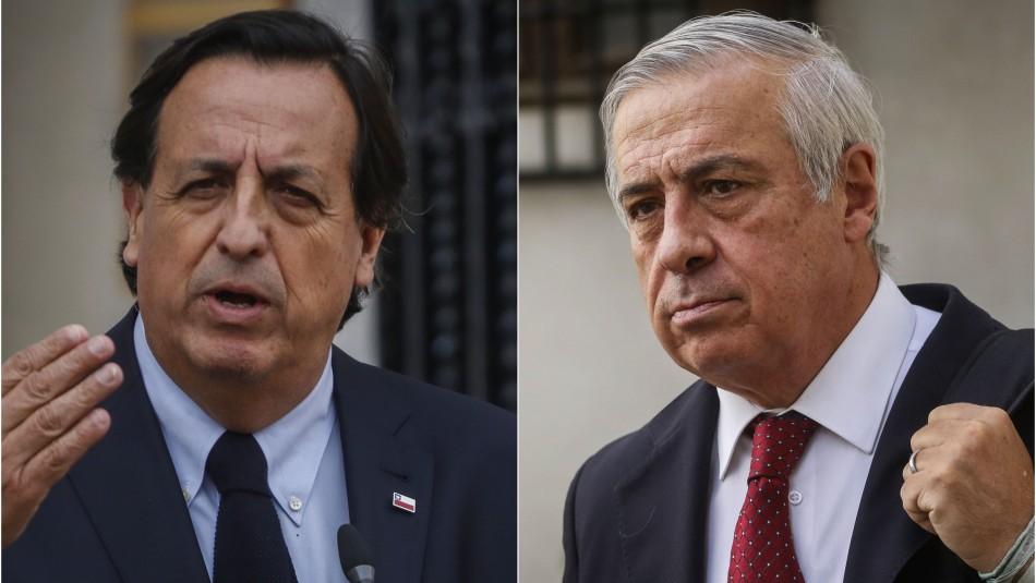 Congelan acusación constitucional contra Víctor Pérez por libelo presentado contra Mañalich