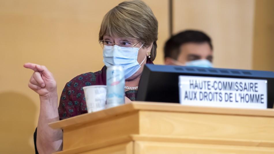 Bachelet pide una investigación sobre alegaciones de tortura en Bielorrusia