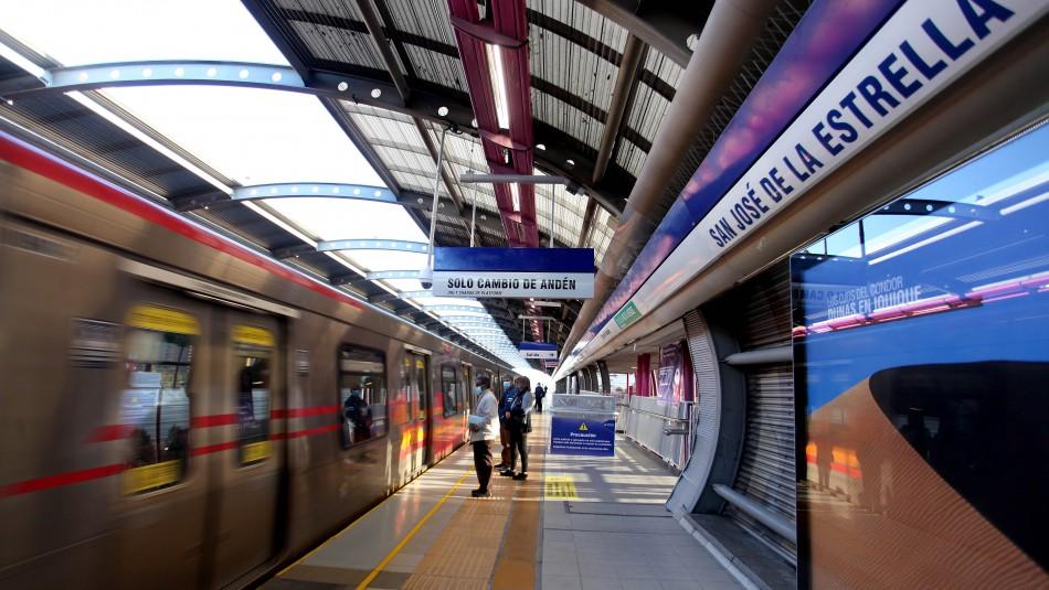 99% operativa: Metro reabre estaciones San José de la Estrella, Los Quillayes y Elisa Correa