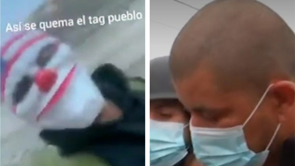 Video subido a redes sociales fue clave para detener a acusados de incendiar pórtico de TAG