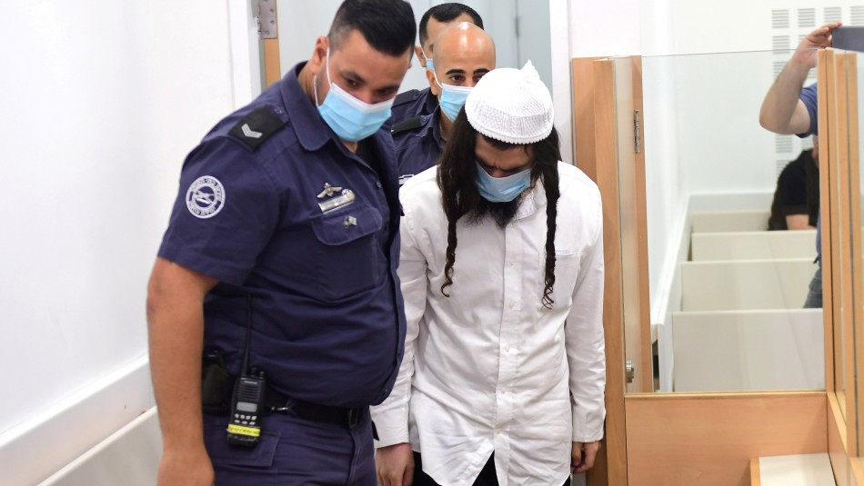Tres cadenas perpetuas para hombre que quemó a toda una familia en Israel
