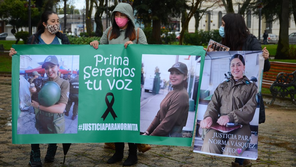 Familia de Norma Vásquez quita patrocinio a abogada de Carabineros que los representaba