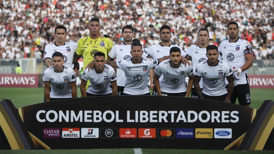 Colo Colo juega por Copa Libertadores 2020.