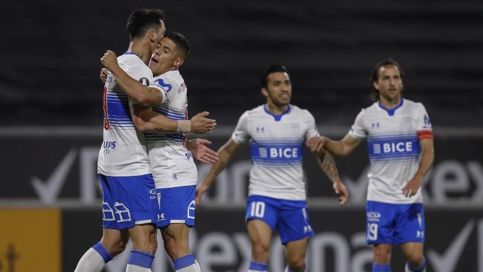 Universidad Católica vence a Gremio y suma sus primeros 3 puntos en Copa Libertadores