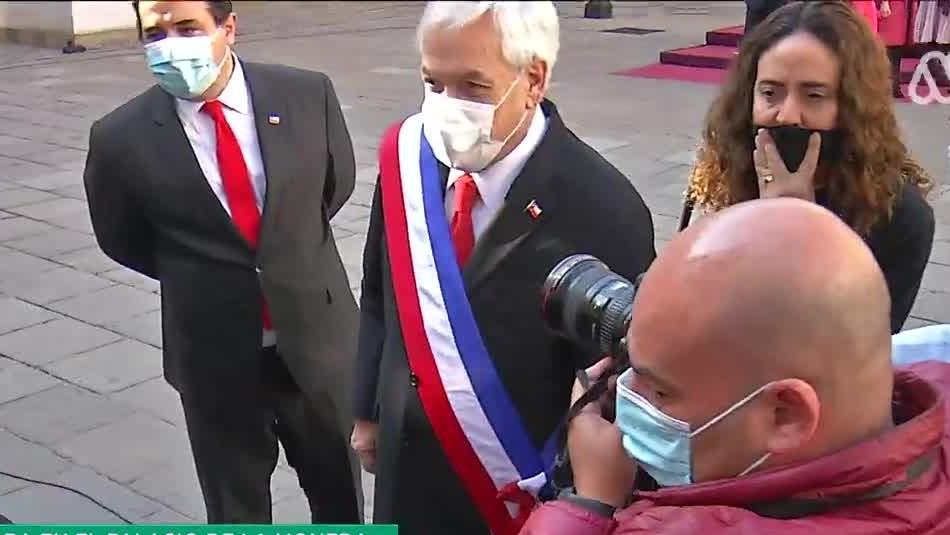 Piñera encabeza