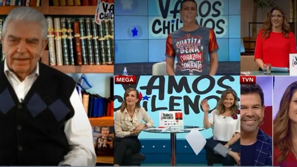 Matinatón digital reunió a rostros de TV para dar el puntapié a la campaña