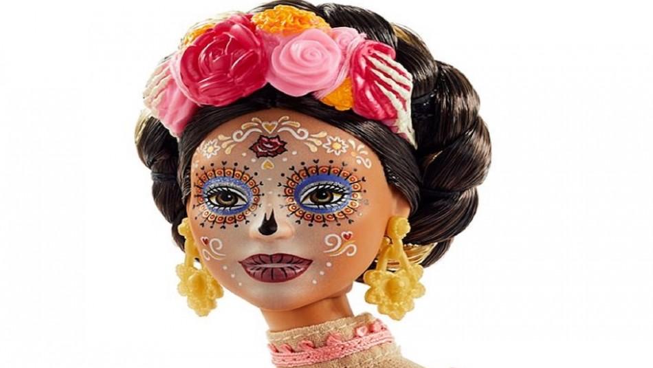 Así luce la Barbie Catrina 2020 para el Día de los Muertos