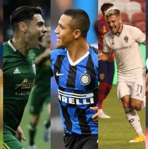 De Alexis Sánchez a Felipe Mora: ¿Cuáles son y en qué están las cartas de gol de la Roja?