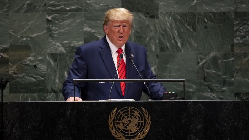 Trump no asistirá a la Asamblea General de la ONU en persona
