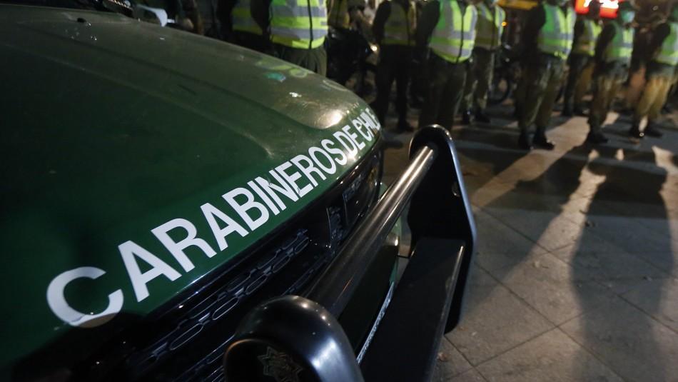Nueva fiesta clandestina: Carabineros detuvo a 17 personas en la región de O'Higgins