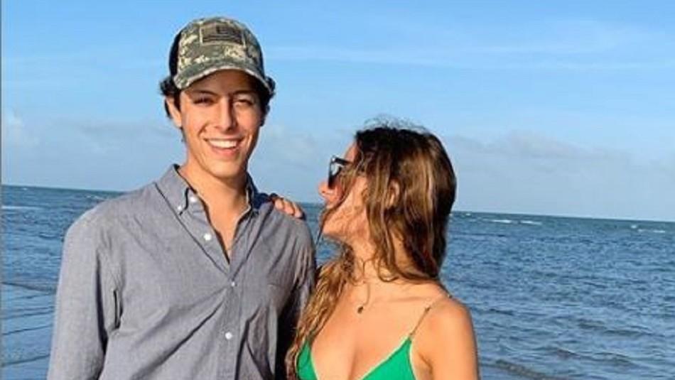 ''Con la gente que me gusta'': Máximo Menem Bolocco se muestra feliz en redes sociales