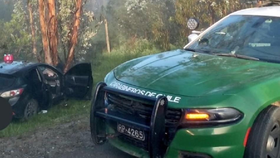 Joven de 16 años embarazada resulta herida en accidente: Conductor no tenía licencia