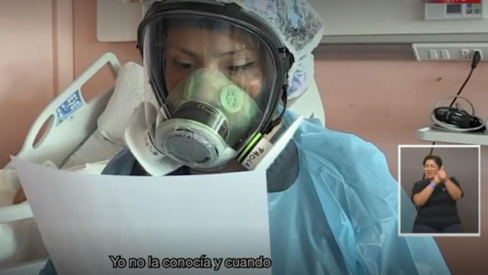 El ángel de las cartas: Paola, la técnico en enfermería que leía mensajes a pacientes Covid