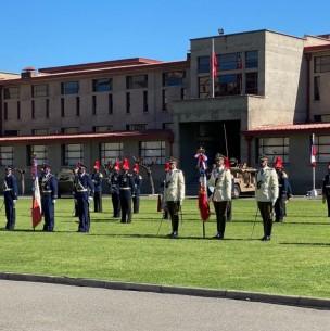 Ceremonia con motivo del Día de las Glorias del Ejército de Chile 2020