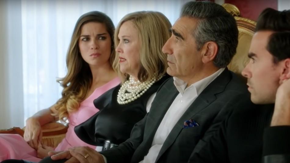 Schitt's Creek: Cómo ver en Chile la serie que sorprendió en los Emmy