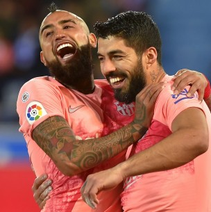 El sentido mensaje de Luis Suárez a Vidal: