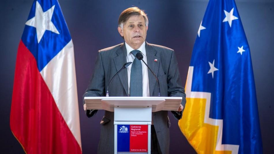 Gobierno confirma renuncia de José Fernández a la intendencia de Magallanes