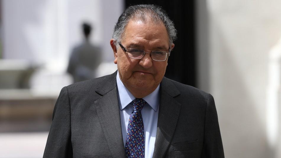 Francisco Huenchumilla se abre a opción presidencial y pide mesa de unidad DC