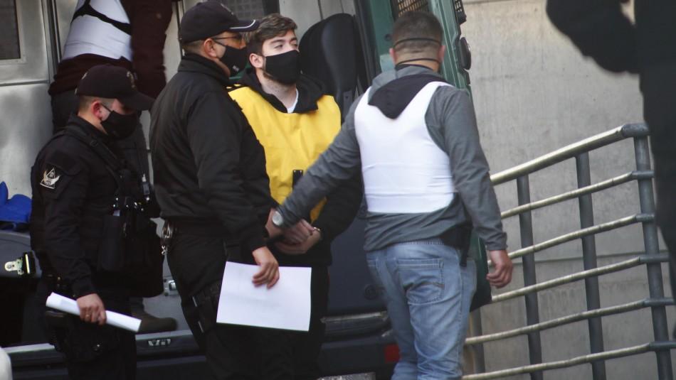 Corte de Apelaciones mantiene prisión preventiva para Nano Calderón Argandoña