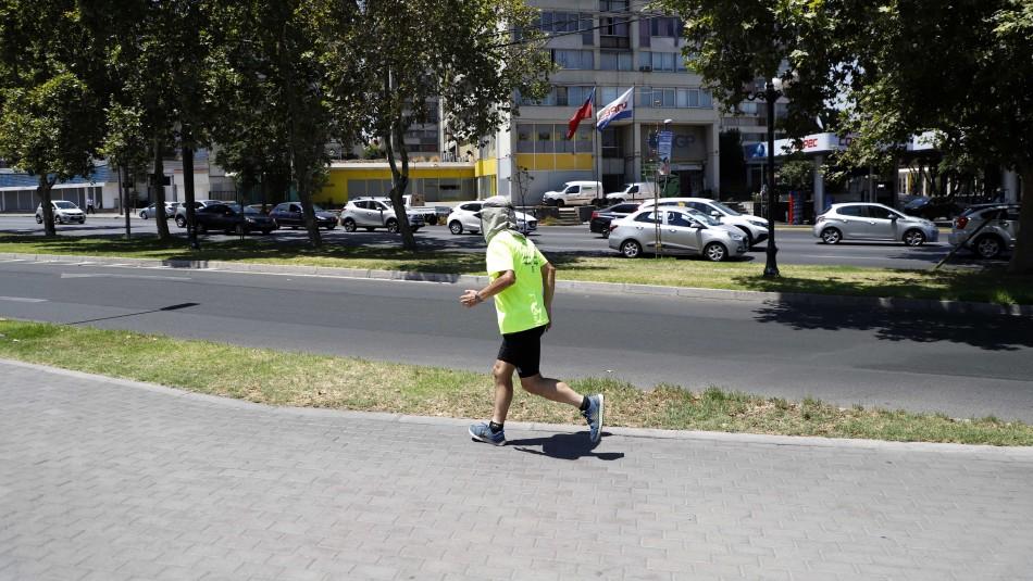 Inicio de la primavera da paso a días con altas temperaturas en Santiago