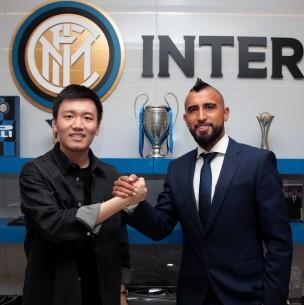 Arturo Vidal es oficializado como nuevo refuerzo del Inter de Milán