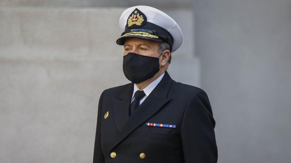 Comandante en Jefe de la Armada da positivo a test de coronavirus