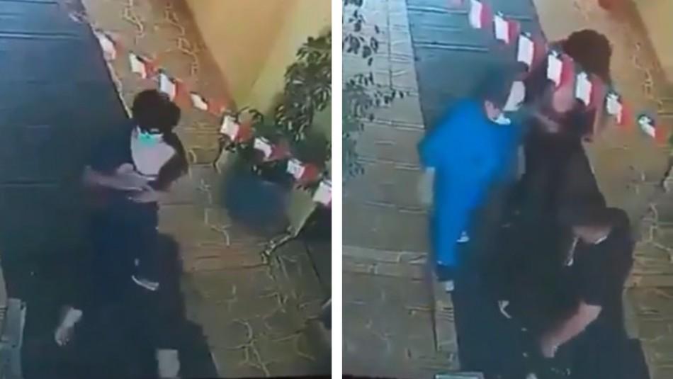 Estudiante deudor de UNAB es agredido por funcionario de empresa de cobranza