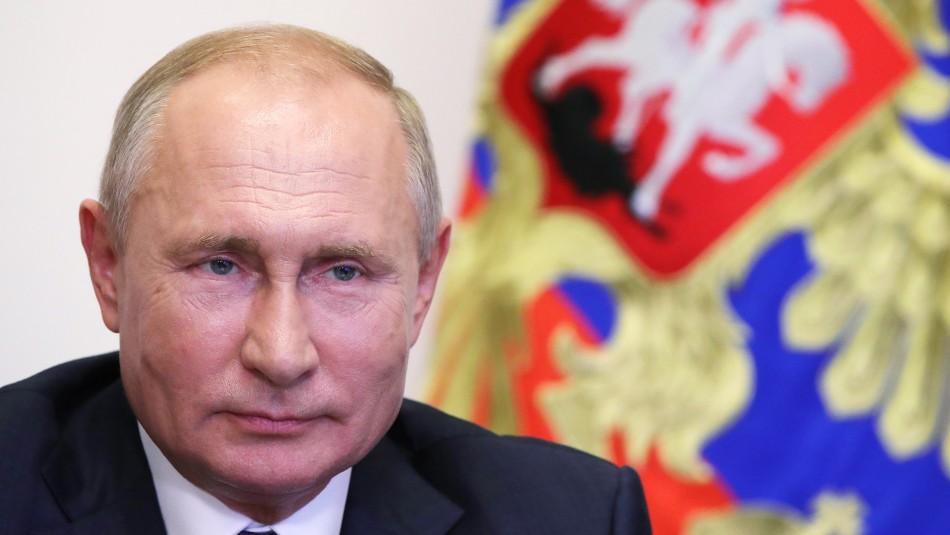 Vladimir Putin es propuesto para el premio Nobel de la Paz de 2021