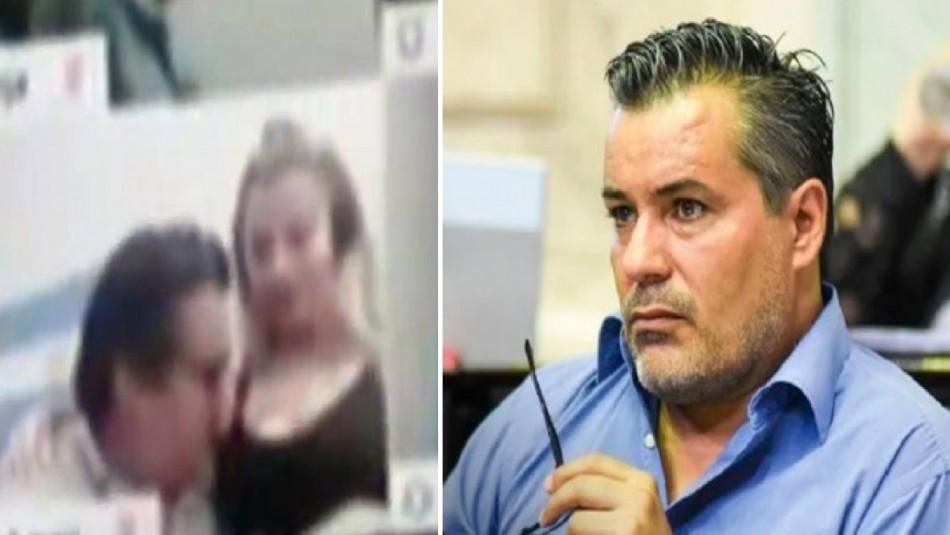 Escándalo en Argentina: Diputado es sorprendido intimando con mujer en plena sesión por zoom