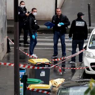 Dos heridos por arma blanca en París cerca de antigua sede de revista Charlie Hebdo