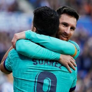 Messi envía mensaje a Luis Suárez: No mereces