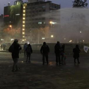16 detenidos tras jornada de manifestación en Plaza Baquedano