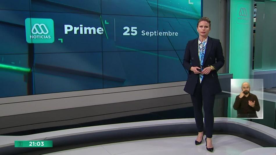 Meganoticias Prime - Viernes 25 de septiembre 2020