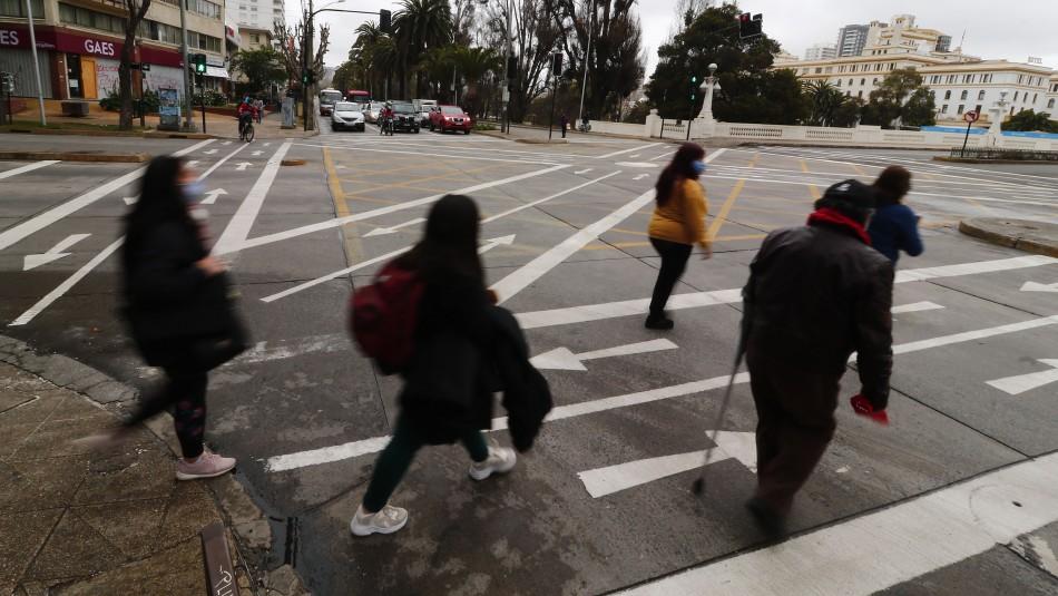 Implementan cruces peatonales