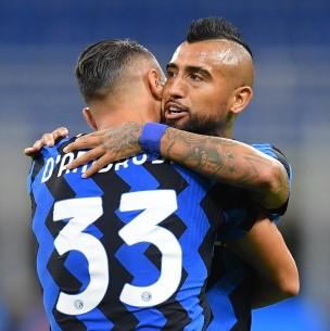 Vidal debuta con un sufrido triunfo en el Inter y Betis de Pellegrini cae con el Real Madrid