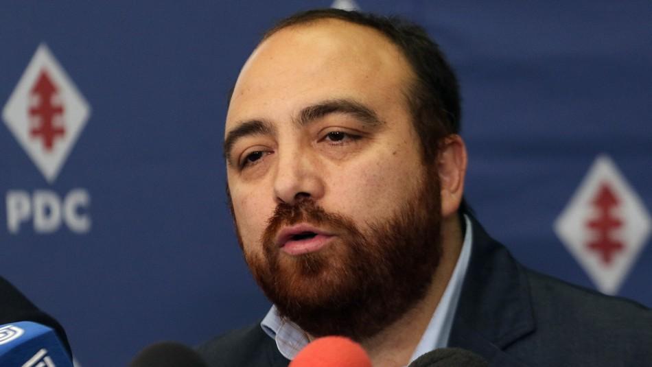 Junta Nacional de la DC: Fuad Chahín emplaza al Frente Amplio por primarias municipales